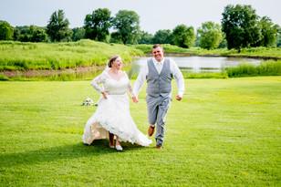 Real Mia Grace Bride: Wedding of Megan and Chris