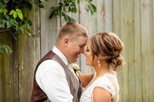 Real Mia Grace Bride: Wedding of Jenna and Matt