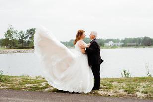 Real Mia Grace Bride: Wedding of Carol and Kevin