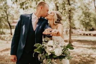 Real Mia Grace Bride: Wedding of Alexa and Michael