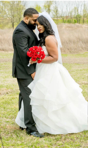 Real Mia Grace Bride: Wedding of Paige and Ryan