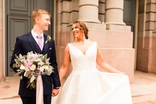 Real Mia Grace Bride: Wedding of Brigid and Brady