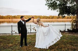 Real Mia Grace Bride: Wedding of Morgan and Zach