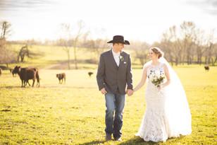 Real Mia Grace Bride: Wedding of Halie and Cole