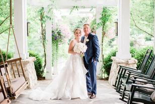 Real Mia Grace Bride: Wedding of Michelle and Derek