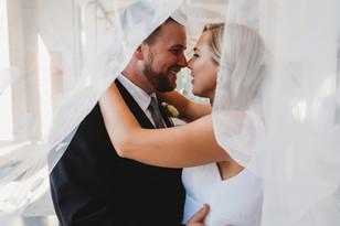 Real Mia Grace Bride: Wedding of Caroline and Matt