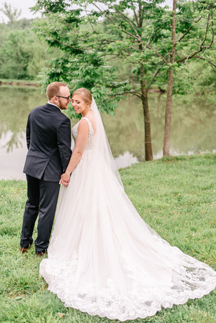 Real Mia Grace Bride: Wedding of Kayla and Ted