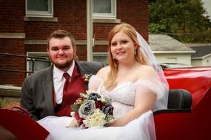 Real Mia Grace Bride: Wedding of Dakota and Ben