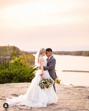 Real Mia Grace Bride: Wedding of Abby and John