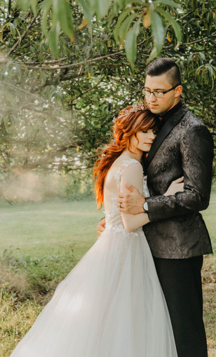 Real Mia Grace Bride: Wedding of Jacqi and Brandon