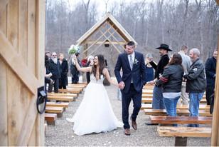 Real Mia Grace Bride: Wedding of Jessica and John