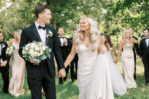 Real Mia Grace Bride: Wedding of Abby and Jon