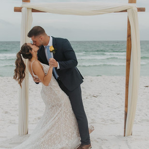 Real Mia Grace Bride: Wedding of Layne and Nate