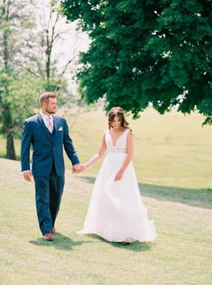 Real Mia Grace Bride: The Wedding of Lauren and Brandon