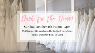 Dash for the Dress!