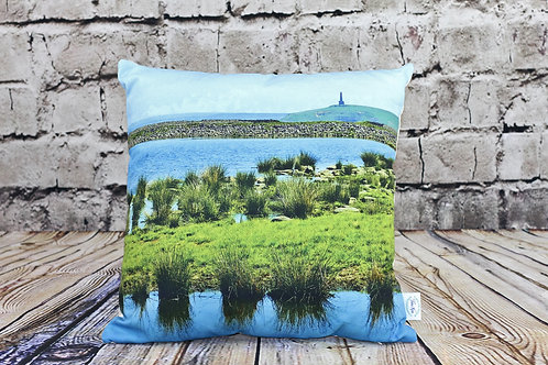 """""""Gaddings to Stoodley"""" Todmorden. Printed Cushion"""