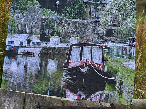 Todmorden Canal Scene - 400 pc puzzle