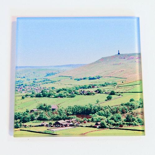 Glass Coaster,  Todmorden, Mankinholes