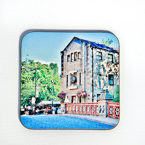 Wooden Coaster, Hebden Bridge, St George's St.