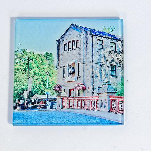 Glass Coaster - Hebden Bridge, St Georges St