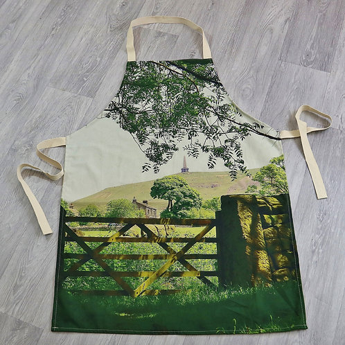 Apron, Stoodley Gate colour, Todmorden