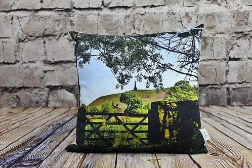 """Stoodley Gate"" Todmorden. Printed Cushion"