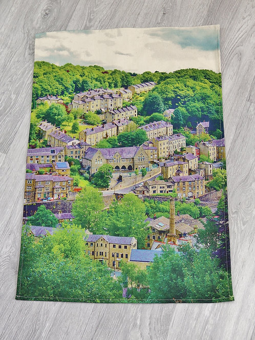 Tea Towel, Birchcliffe, Hebden Bridge