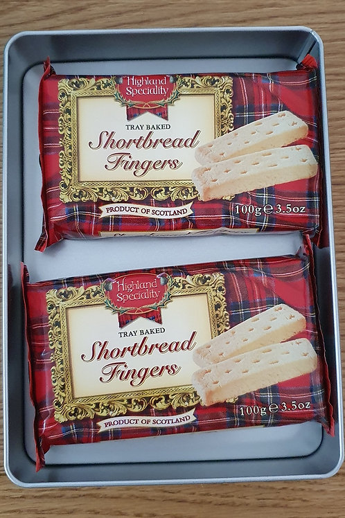 Shortbread Filled Photographic Tin