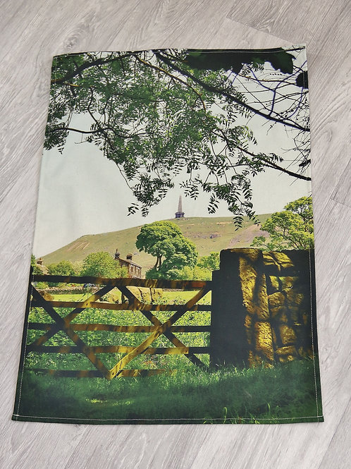 Tea Towel, Stoodley Gate colour, Todmorden