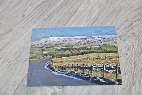 Lumbutts Rd Christmas Card - Postcard & Envelope