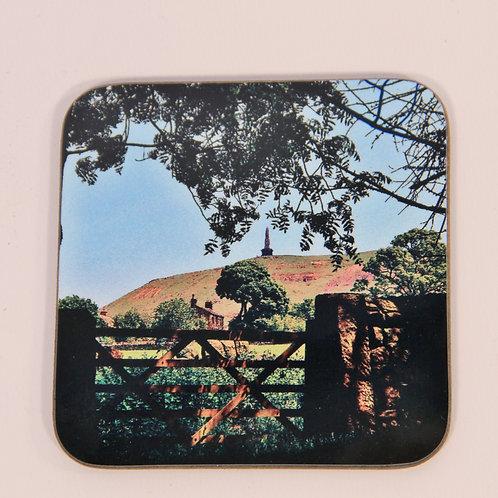 Wooden Coaster, Todmorden,Stoodley Gate colour