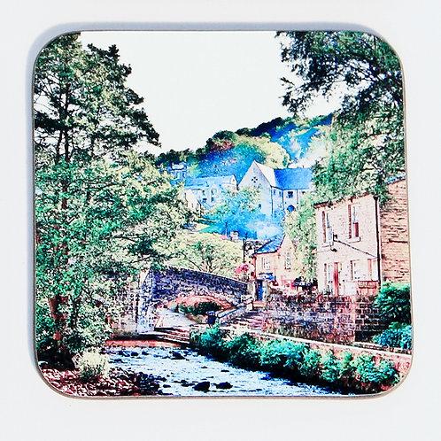 Wooden Coaster, Hebden Bridge, Packhorse Bridge