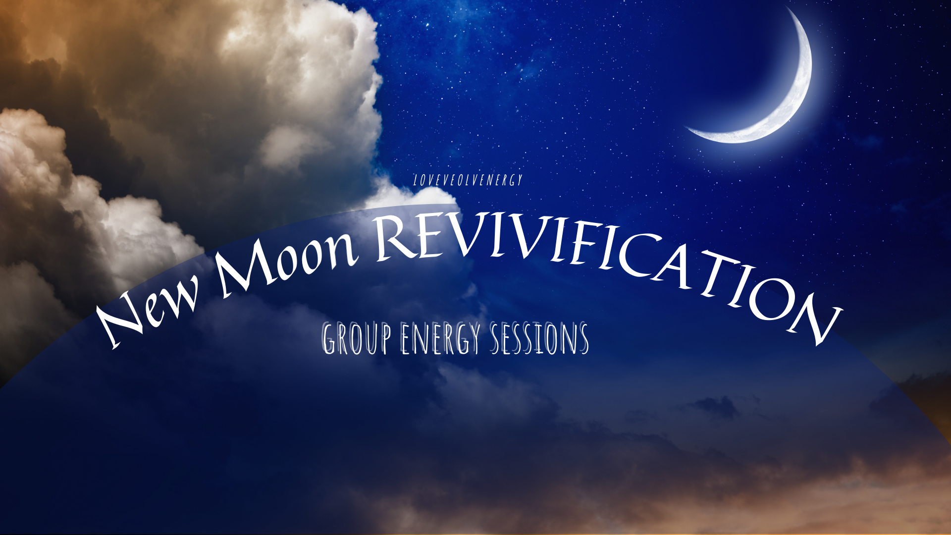 GROUP SESSIONS: 2/7/21 new moon revive