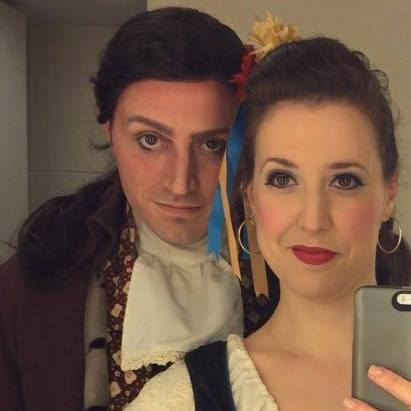 "Luiz and Tessa in ""The Gondoliers"""