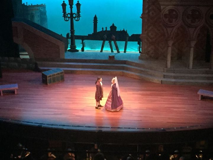 "Luiz & Casilda in ""The Gondoliers"""