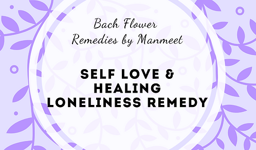 Self Love and Healing Loneliness Remedy