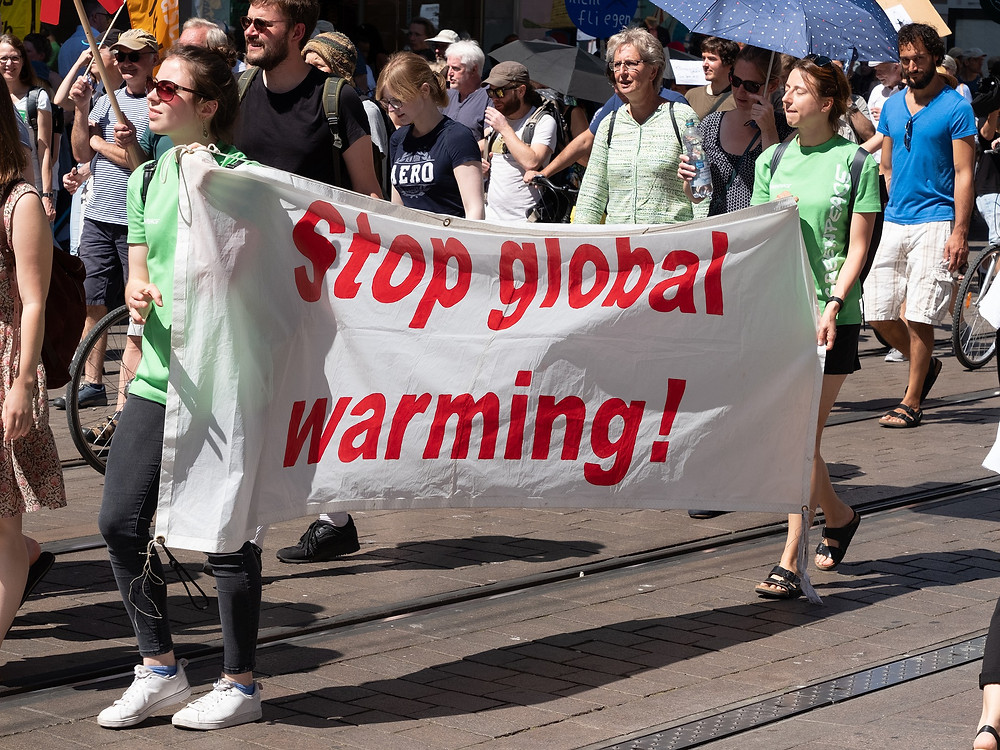 Global Warming Protest March