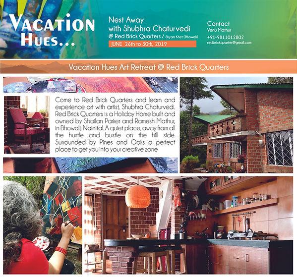 6Vacation Hues @Red Brick Quarters,Bhowa
