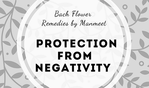 Protection from Negativity