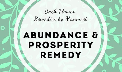 Abundance and Prosperity Remedy