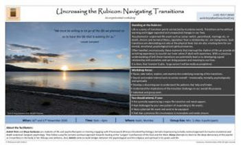 PtS_Transitions-Uncrossing-Rubicon_Flyer