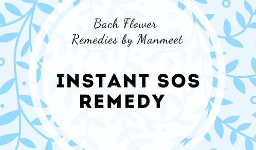 Instant SOS Remedy
