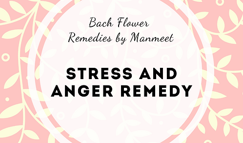 Stress and Anger Remedy