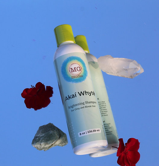 8oz Akaí Whyté Brightening Shampoo