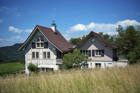 Riegelhaus in Hirzl