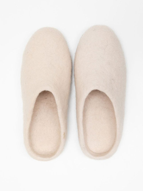 Bella Slipper | Cream