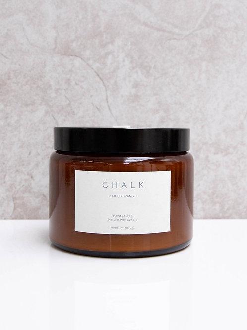 Amber Jar Candle   Spiced Orange   500ml