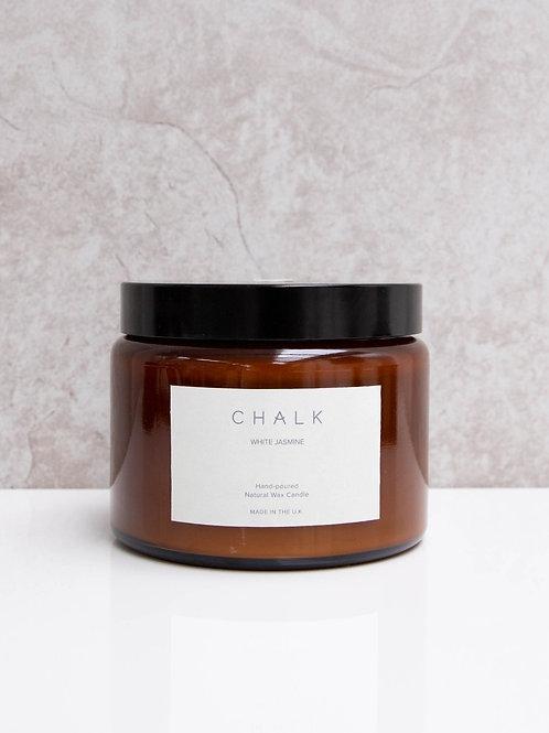 Amber Jar Candle | White Jasmine | 500ml