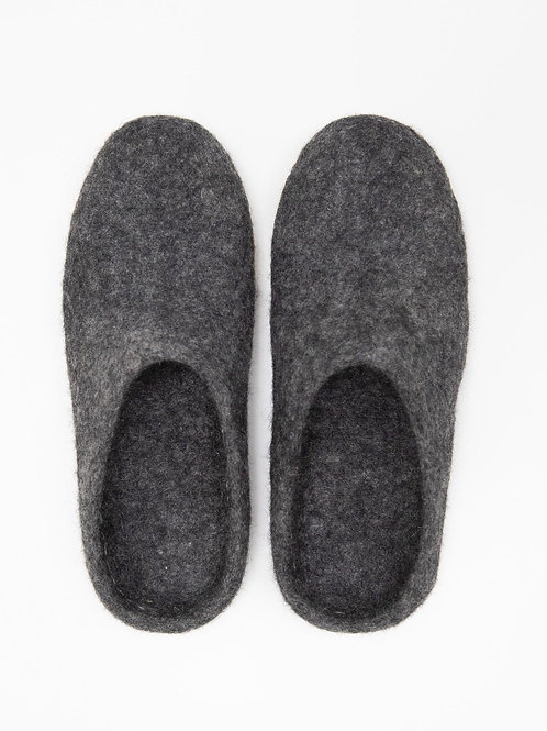 Bella Slipper | Charcoal