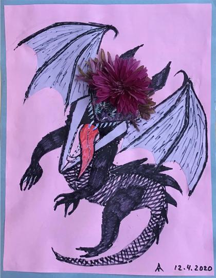 """Coronavirus Dragon"""